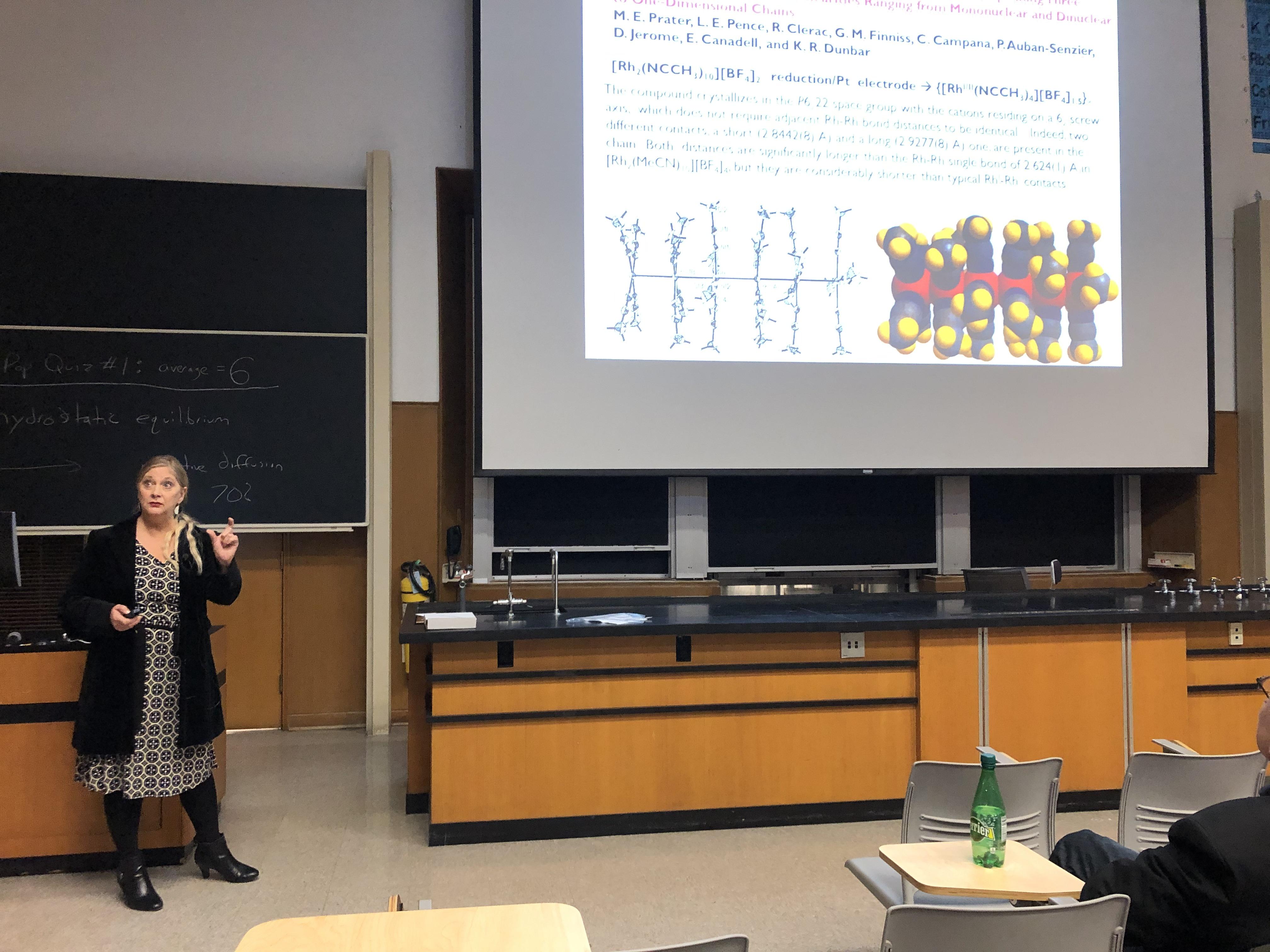 Kim Renee Dunbar teaching